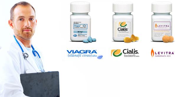 Levitra, Cialis and Viagra