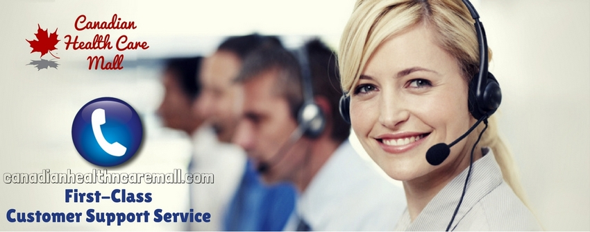 Canadian Health Care Mall customer support