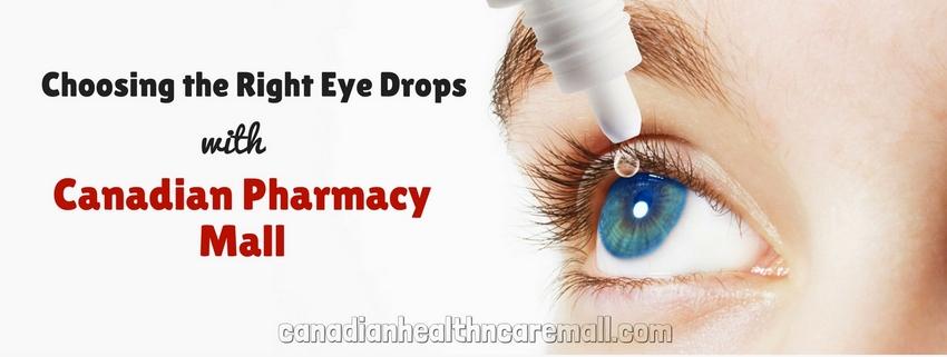Choosing the Right Eye Drops