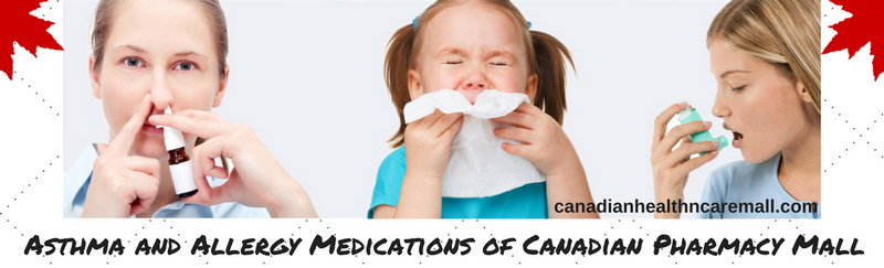 Asthma and Allergy Medications of Canadian Pharmacy Mall